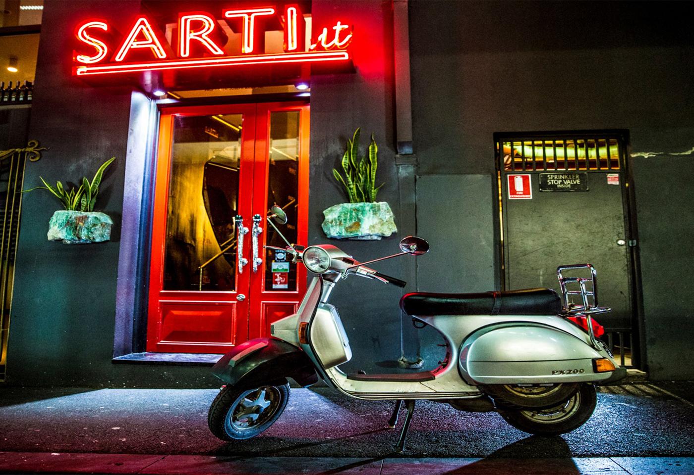 night LED light motorcycle image