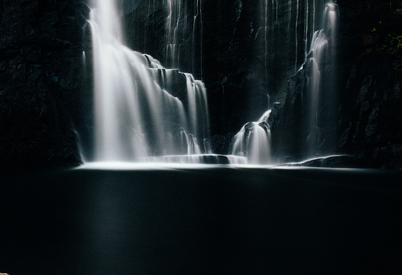 Long exposure image of Erskine Fall by Neal Walters