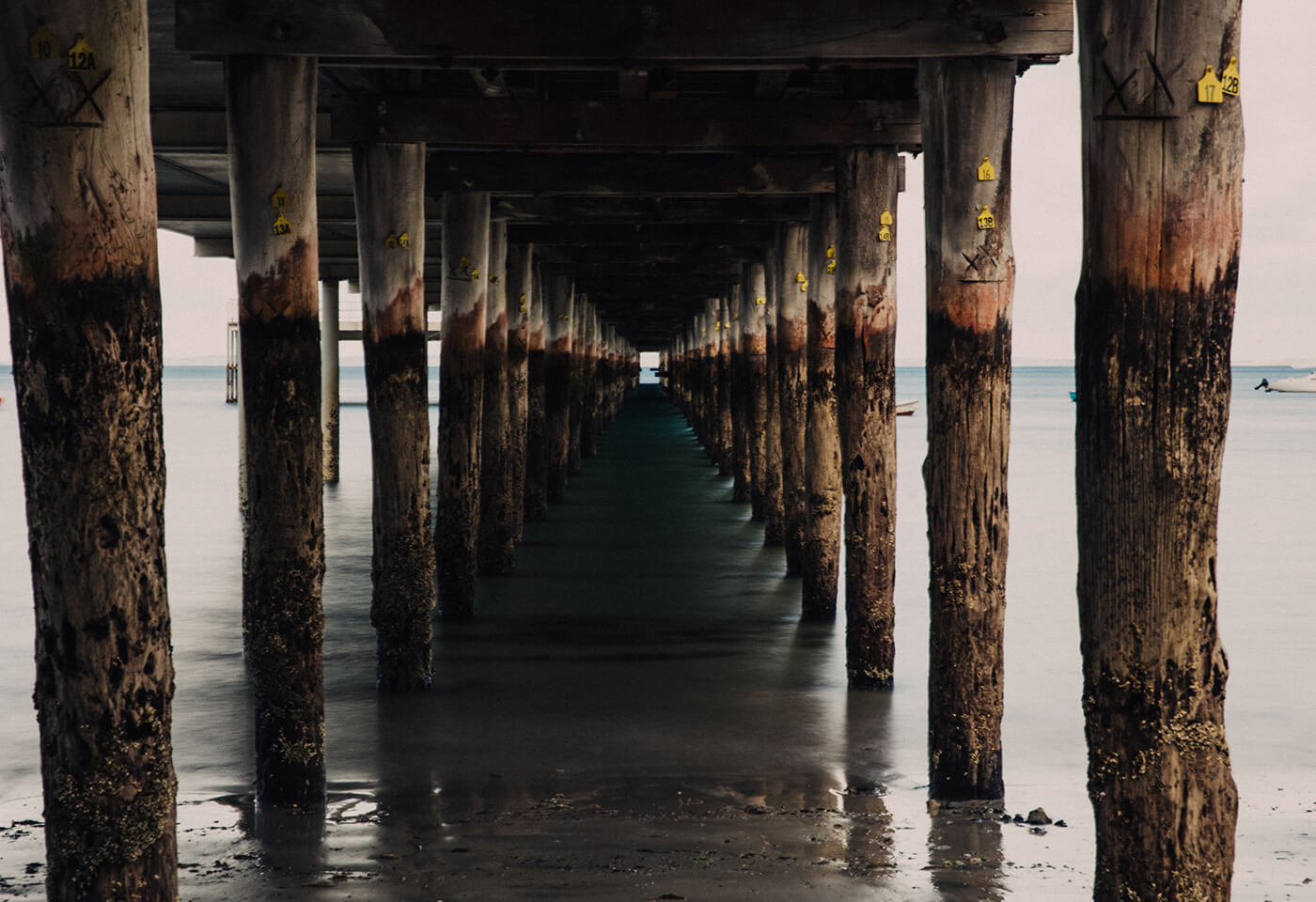 Image of Pier and Ocean