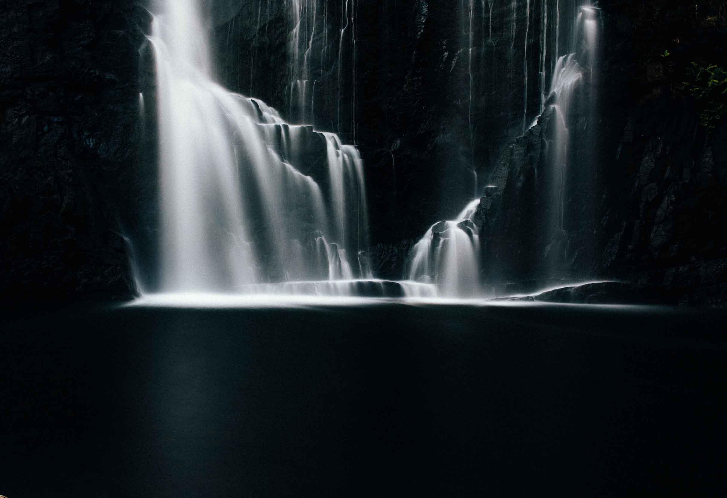 Landscape Image Waterfall