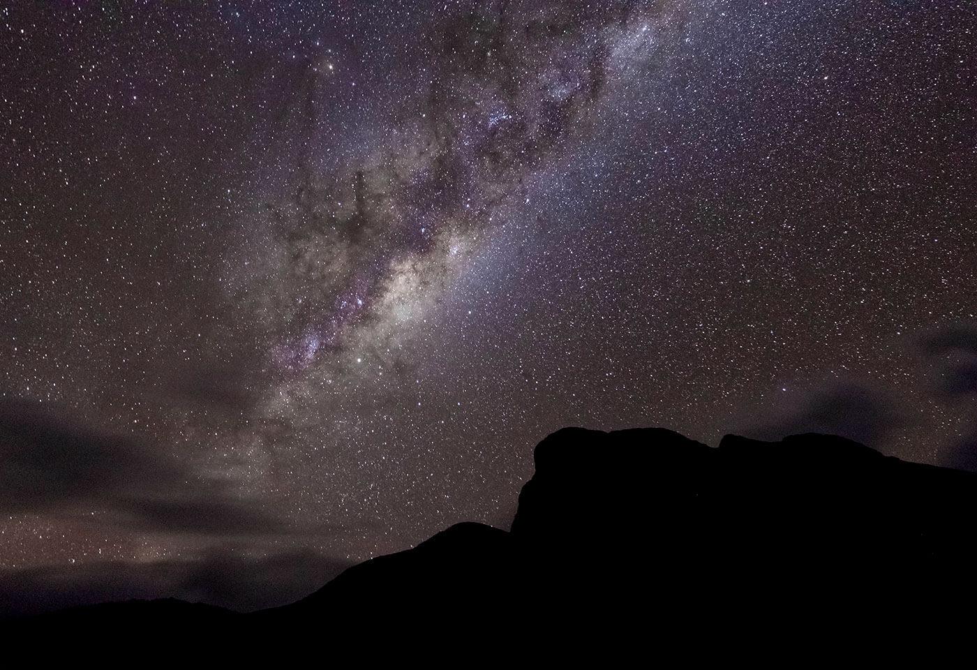 Photo of night sky by Scott Stramyk