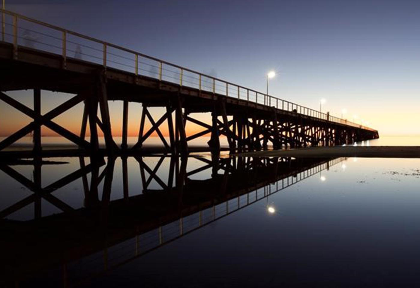 long exposure Sunset image Applecross Jetty