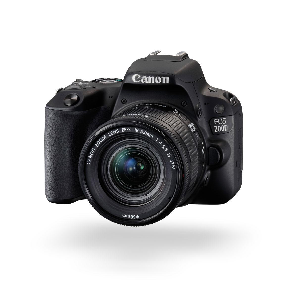 Canon EOS 200D hero image