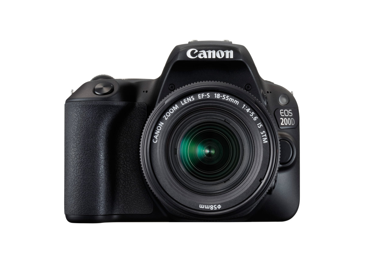 Canon EOS 200D front on image