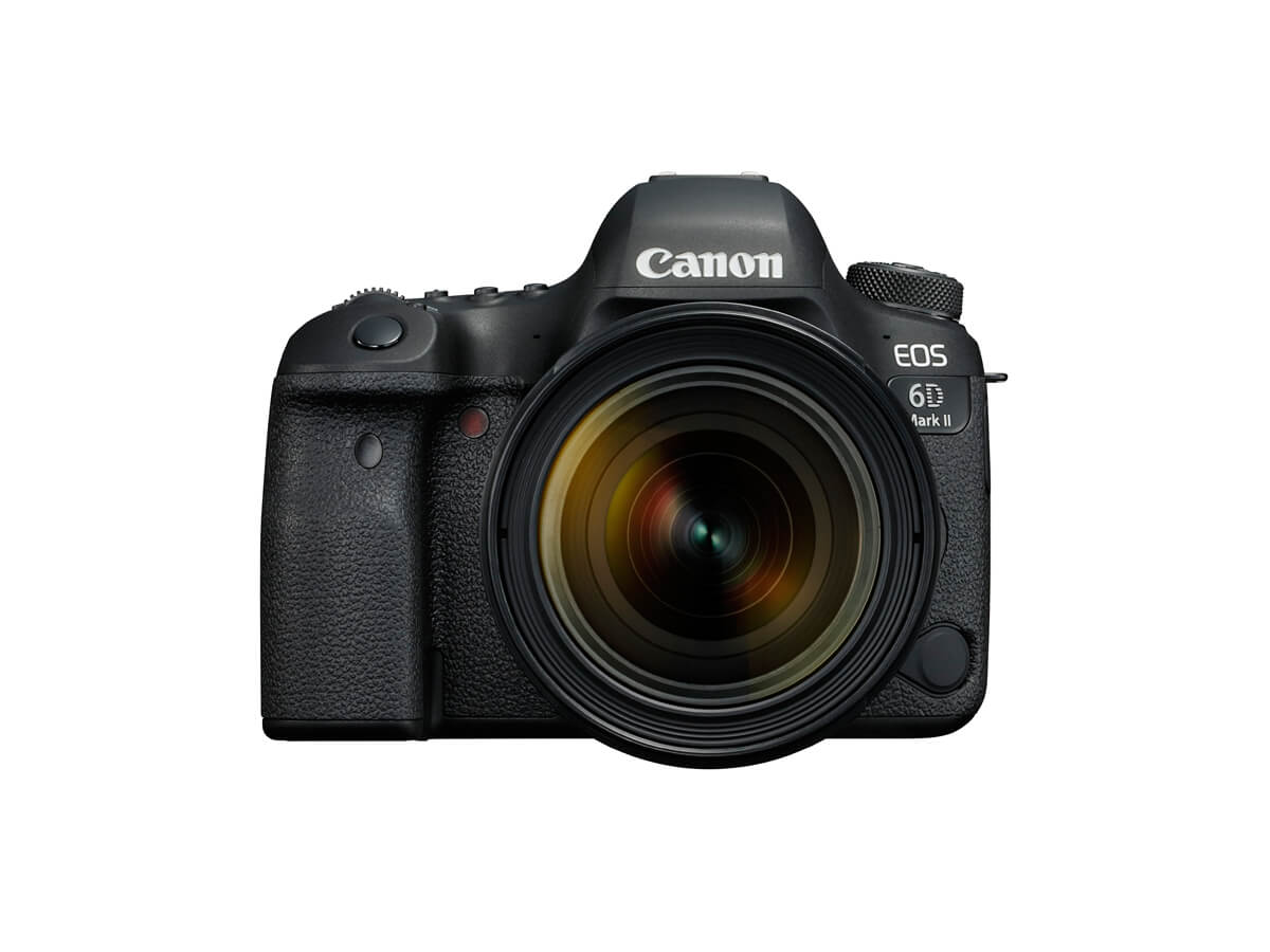 EOS 6D Mark II front image