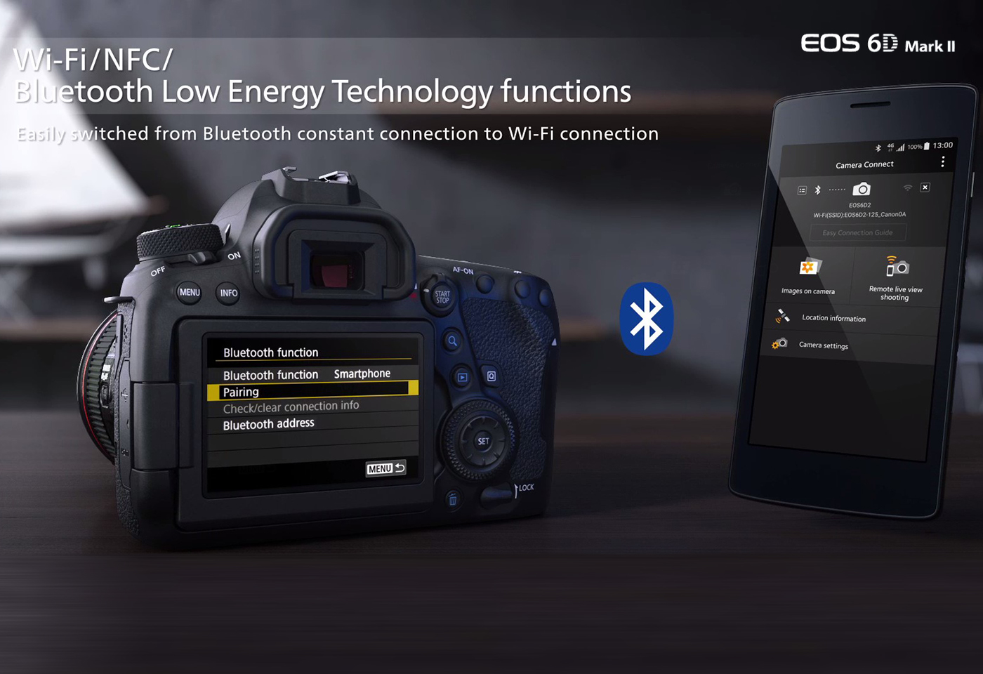 Always on connection with Bluetooth® Low Energy