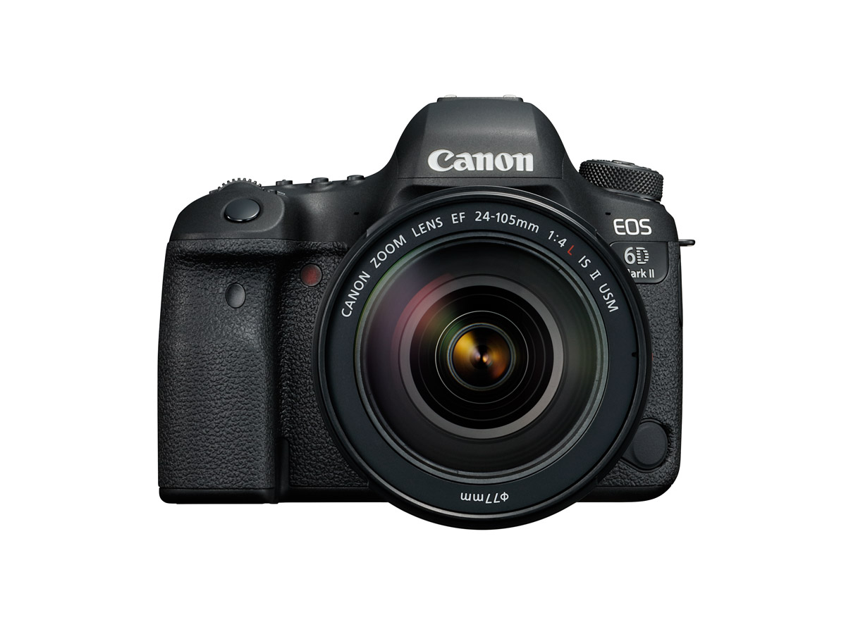 Front view of Canon EOS 6D Mark II