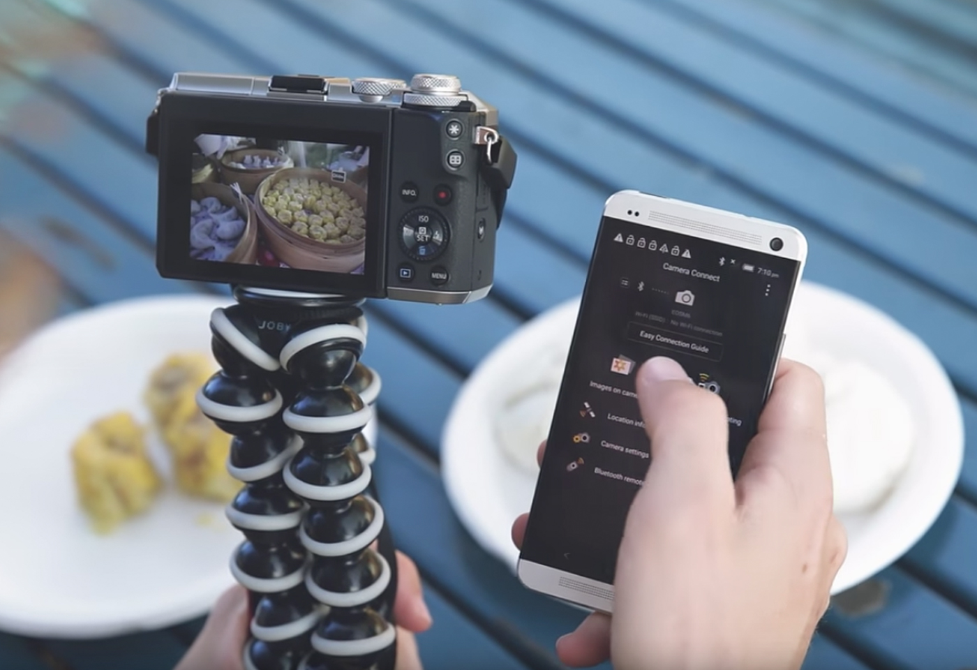 Product image of M6 vlogging with app