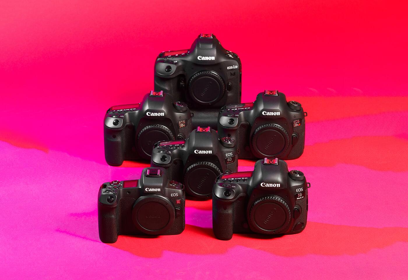 Canon EOS Cameras by Rob Caldwell