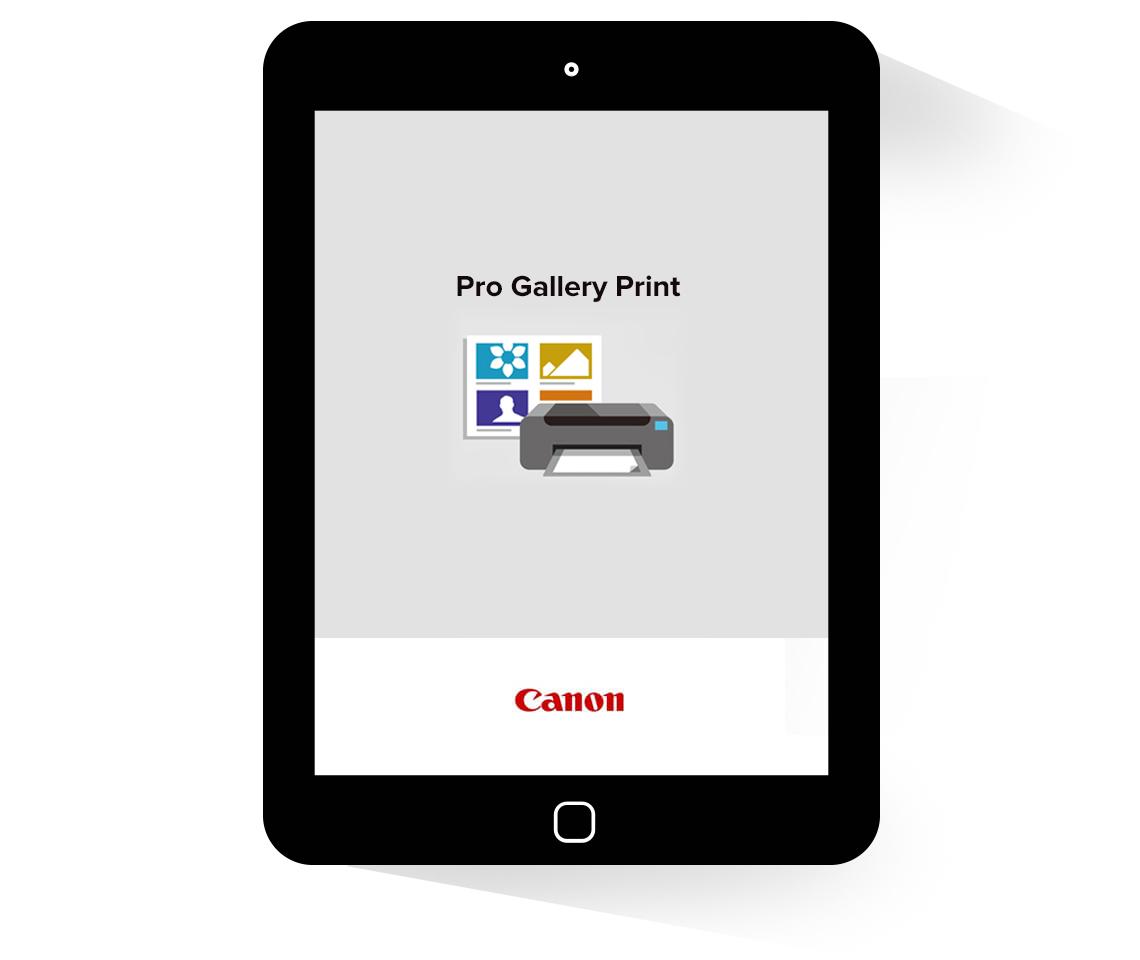 Canon Pro Gallery Print