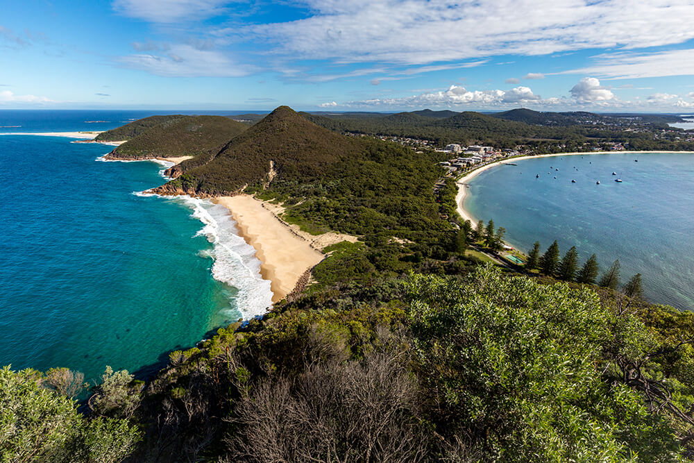 Image of Mt Tomaree by Jenn Cooper