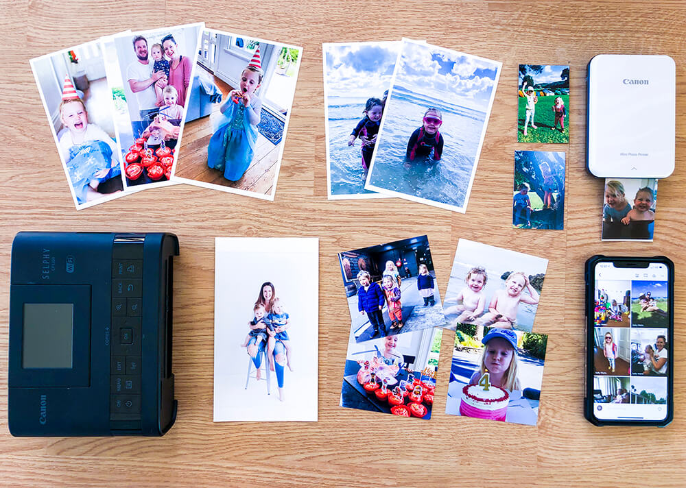 Canon Selphy printer used for scrapbooking