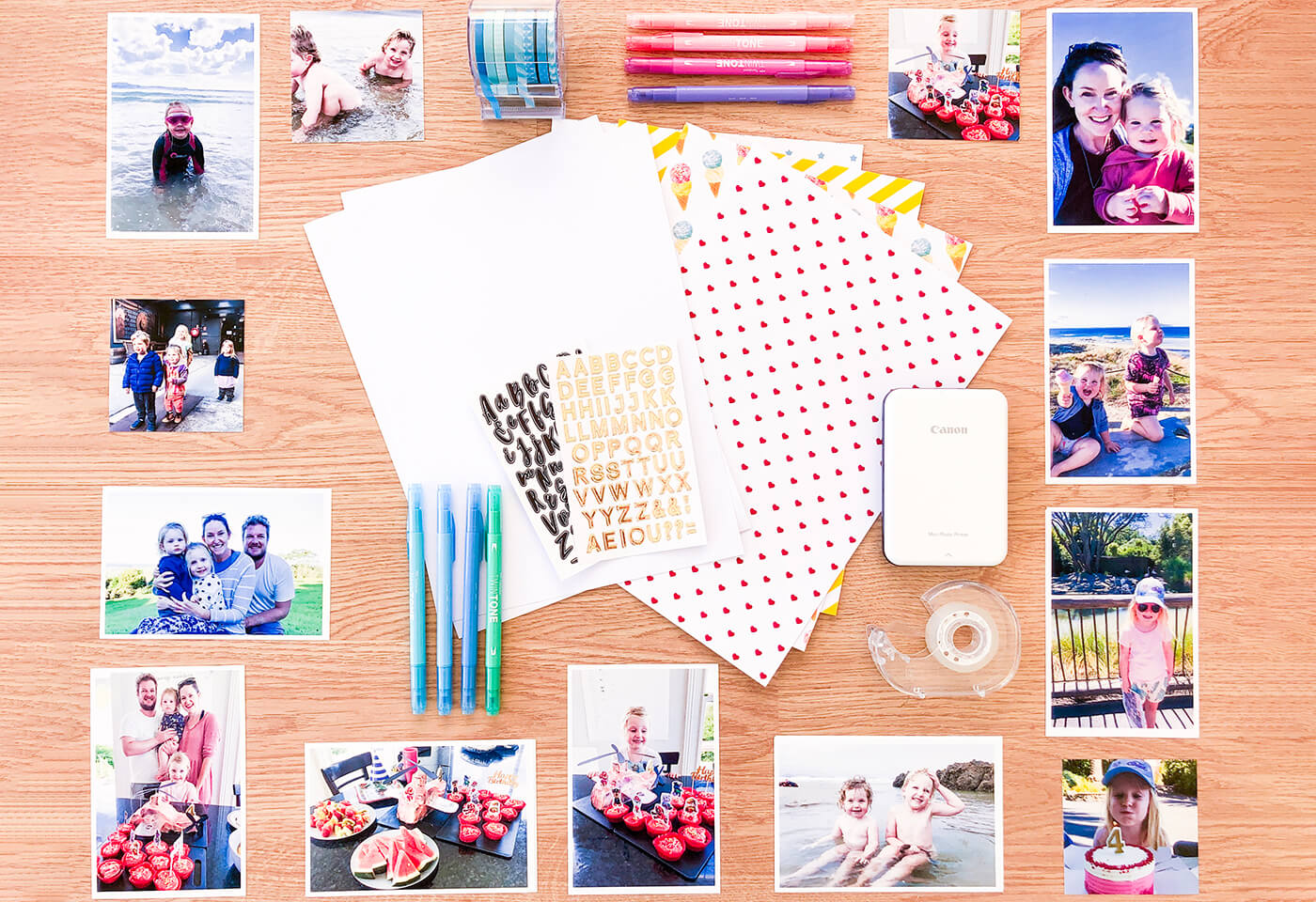 Scrapbooking by Chloe Watts @blueberrycobaby