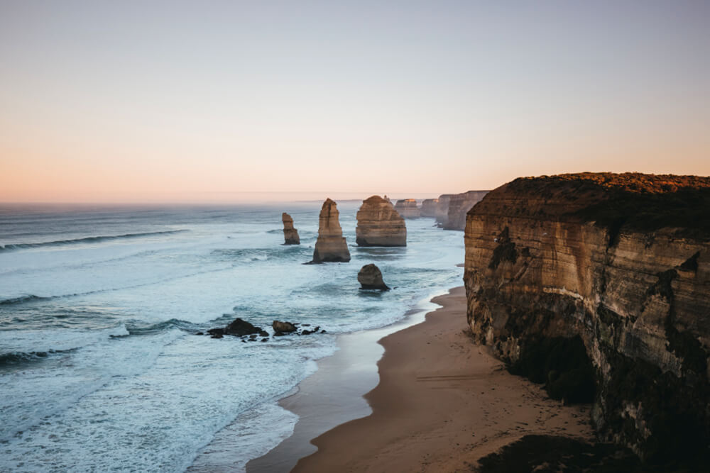 Image of the Twelve Apostles, Victoria. Shot by Kirk Richard