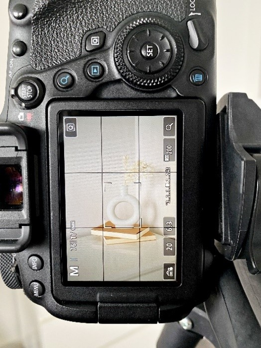 Camera settings when taking a Lifestyle Product Photograph