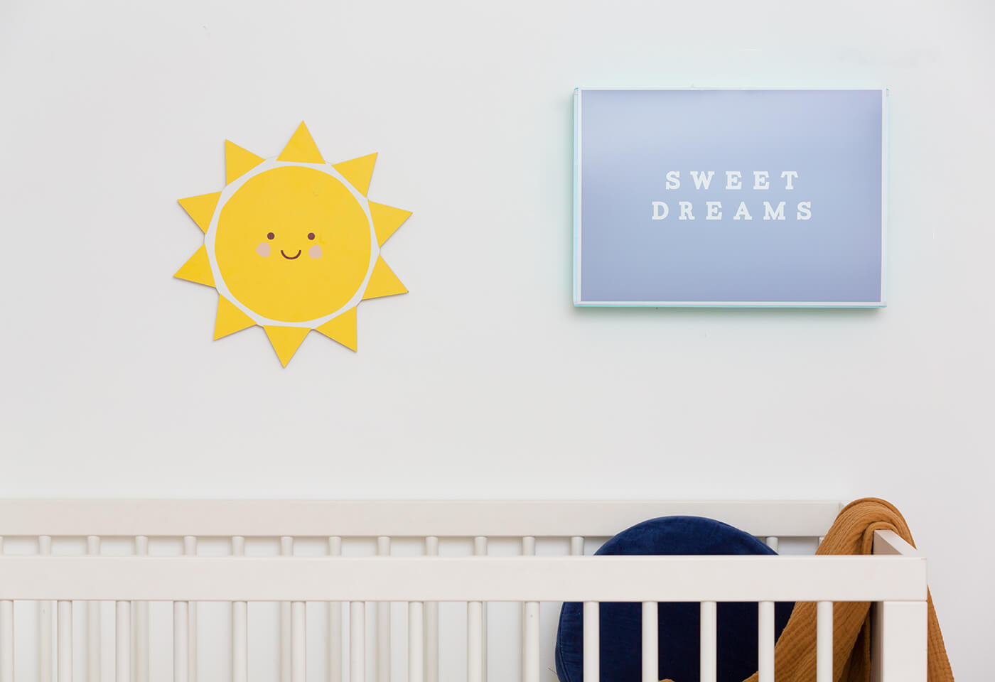 Prints in nursery