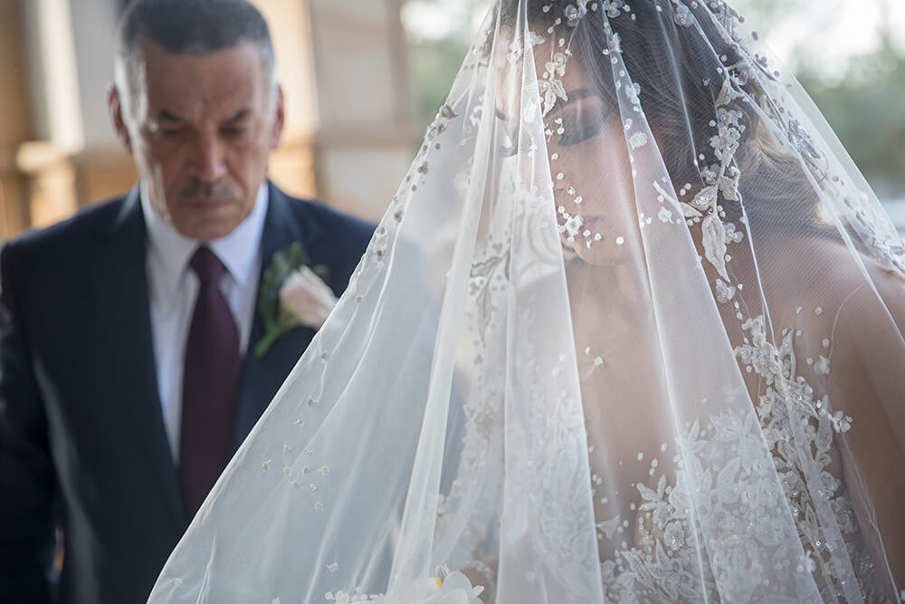 Bride and father photo by Canon Master Ryan Schembri