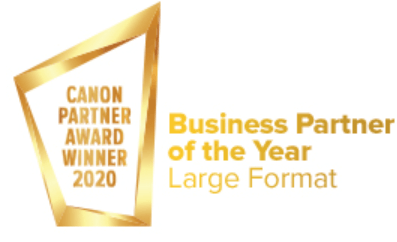 Business Partner of the Year 2020 Large Format