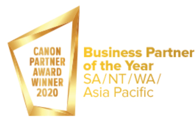 Business Partner of the Year award - SA/NT/WA/ Asia Pacific