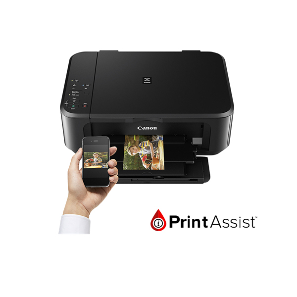 Print Assist white banner