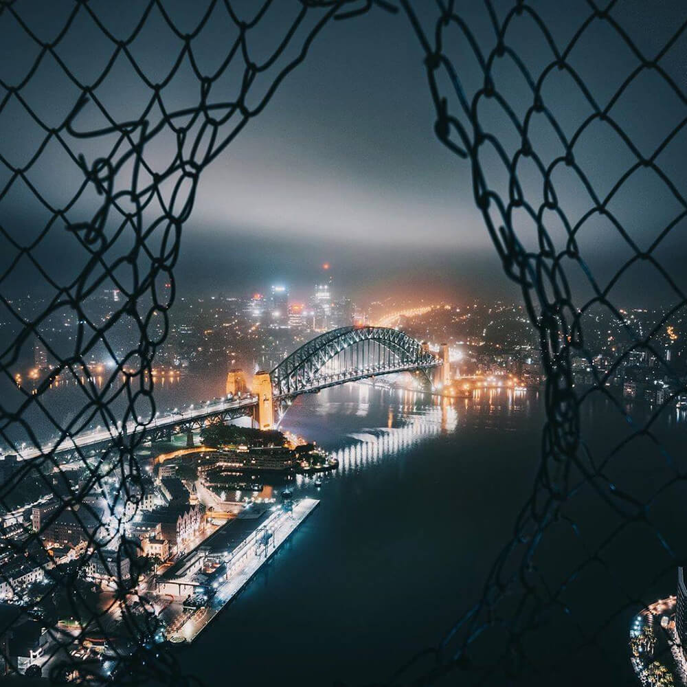 Image of Sydney Harbour Bridge by @is400o