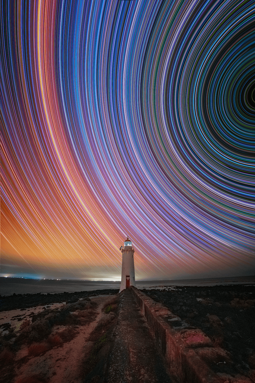 Long exposure astrophotography by @hangingpixels_photo_art