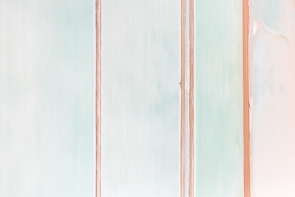 Image 12 of Salt Series - Aerial photographs of evaporation ponds by Peter Franc