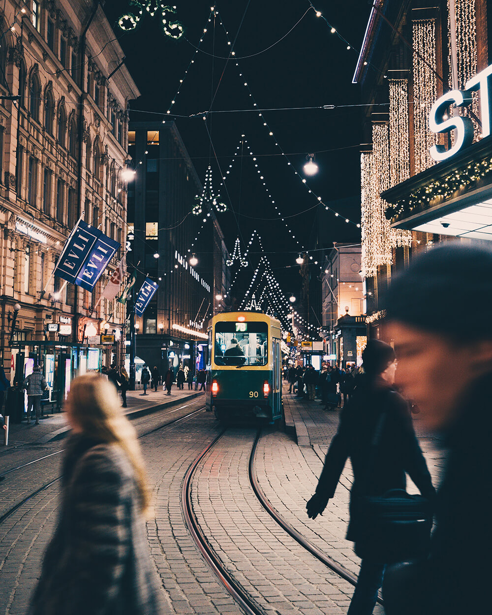 Photo of the streets of Helsinki. Image by Elaine Li