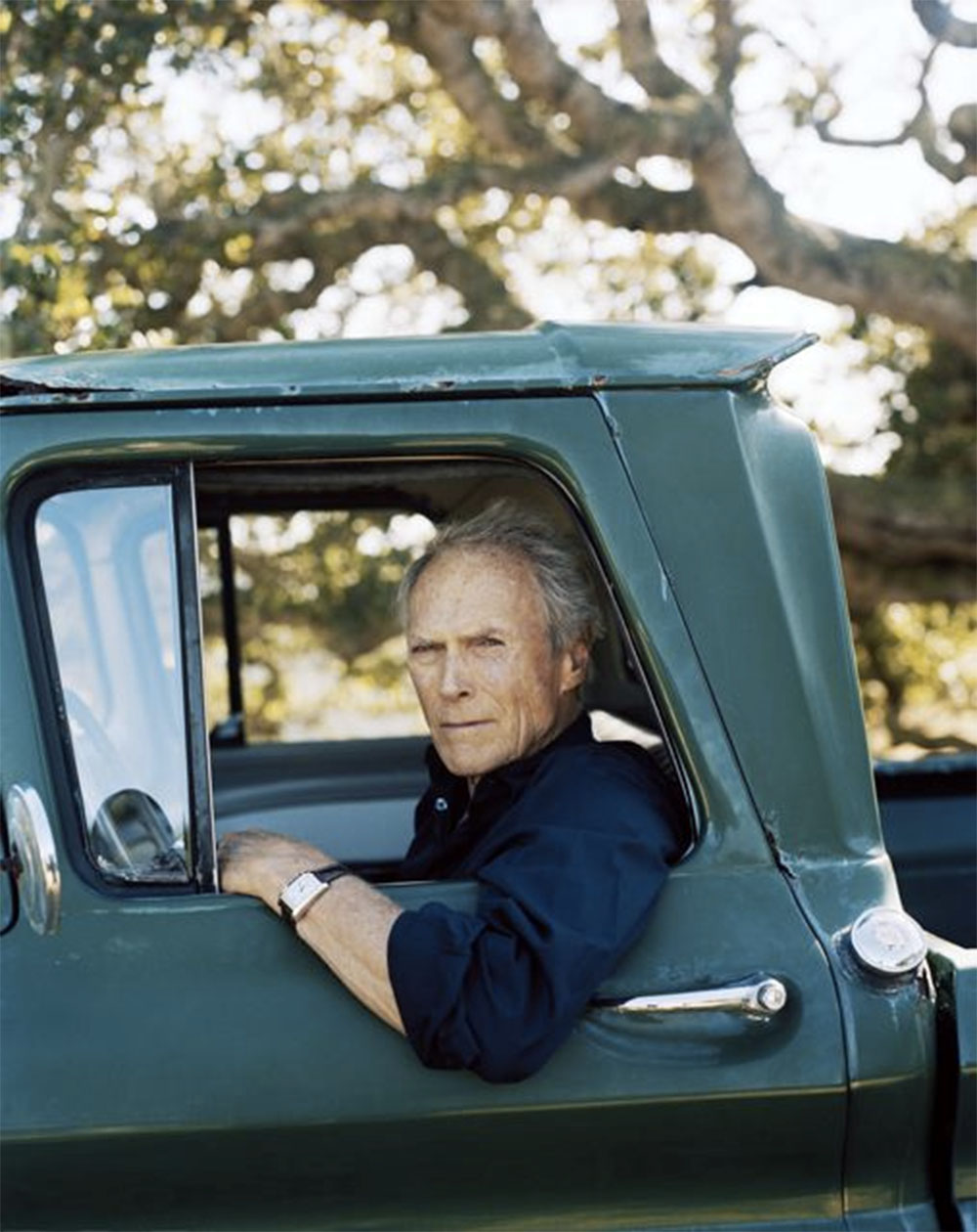 Portrait image of Clint Eastwood