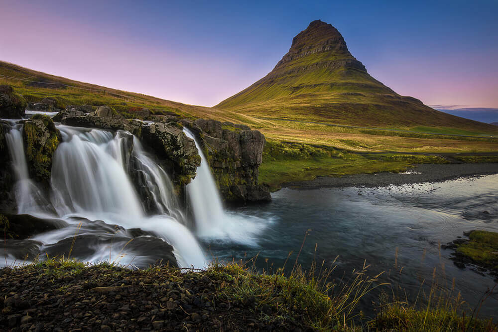 Kirkjufellsfoss Waterfall. Shot by Steph Vella