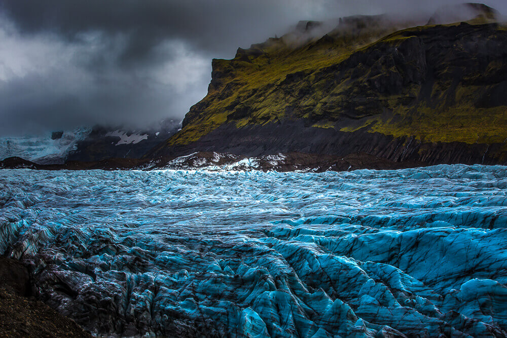 Photo of Vatnajökull Glacier. Shot by Steph Vella