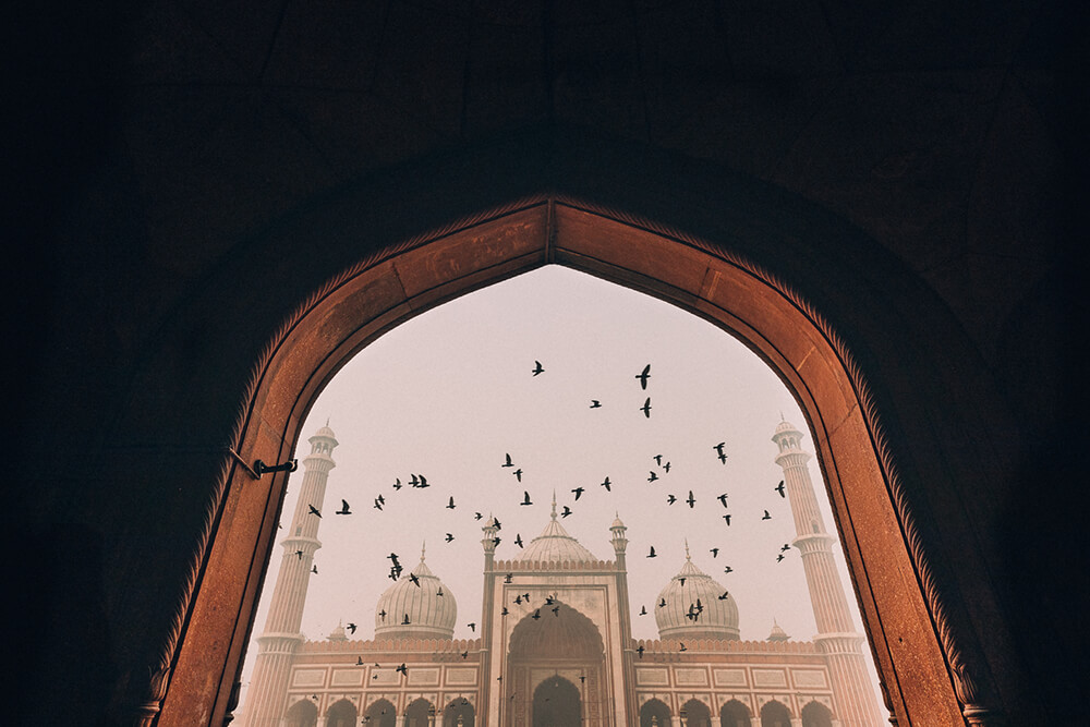 Photo of the Taj Mahal. Image by Melissa Findley