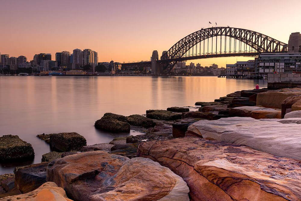 Barangaroo Sunrise at the Reserve Workshop