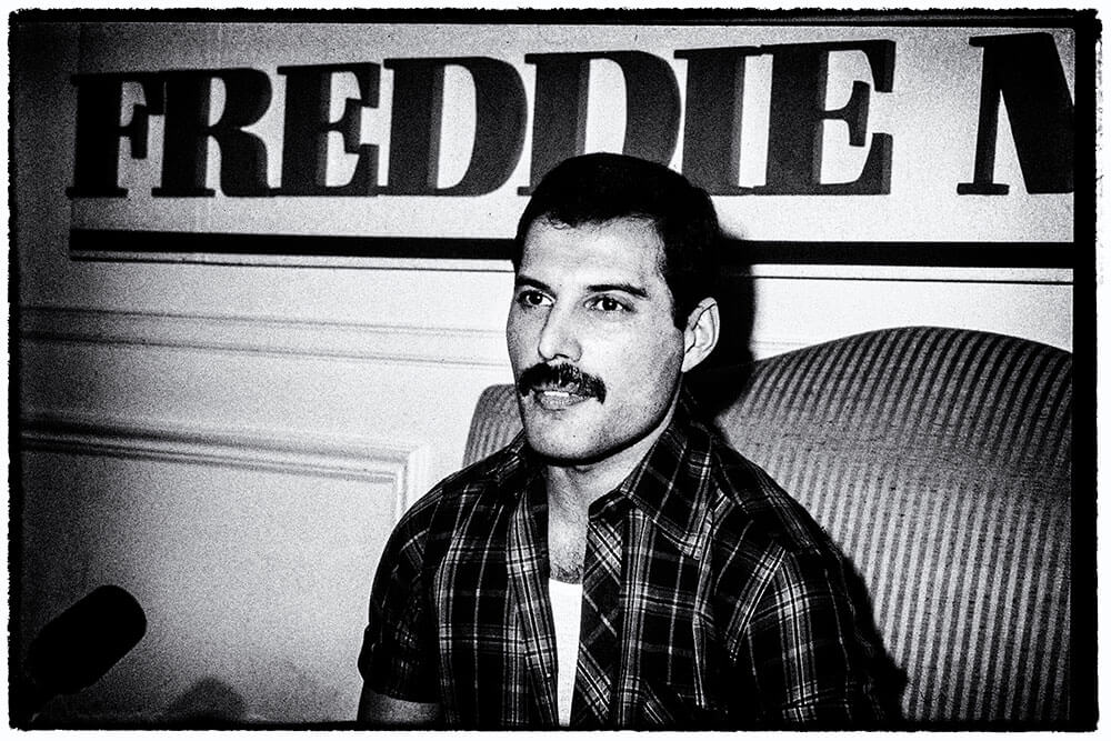 Image of Freddie Mercury by Music Photographer Wendy McDougall