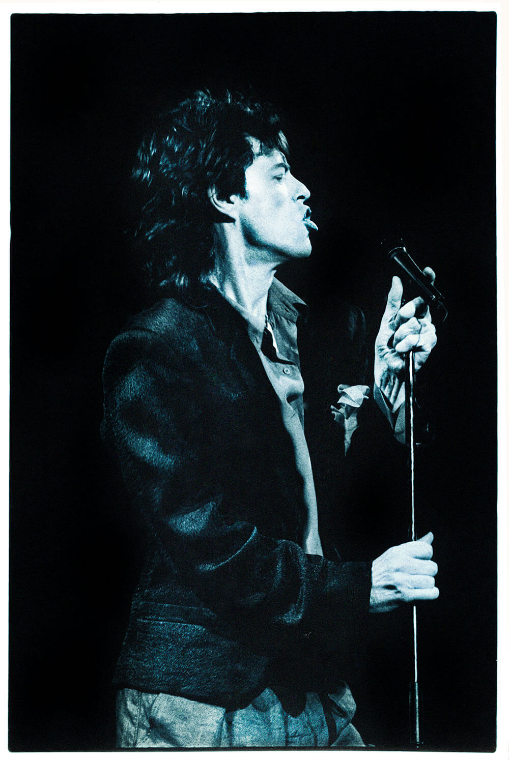 Image of Mick Jagger by Music Photographer Wendy McDougall