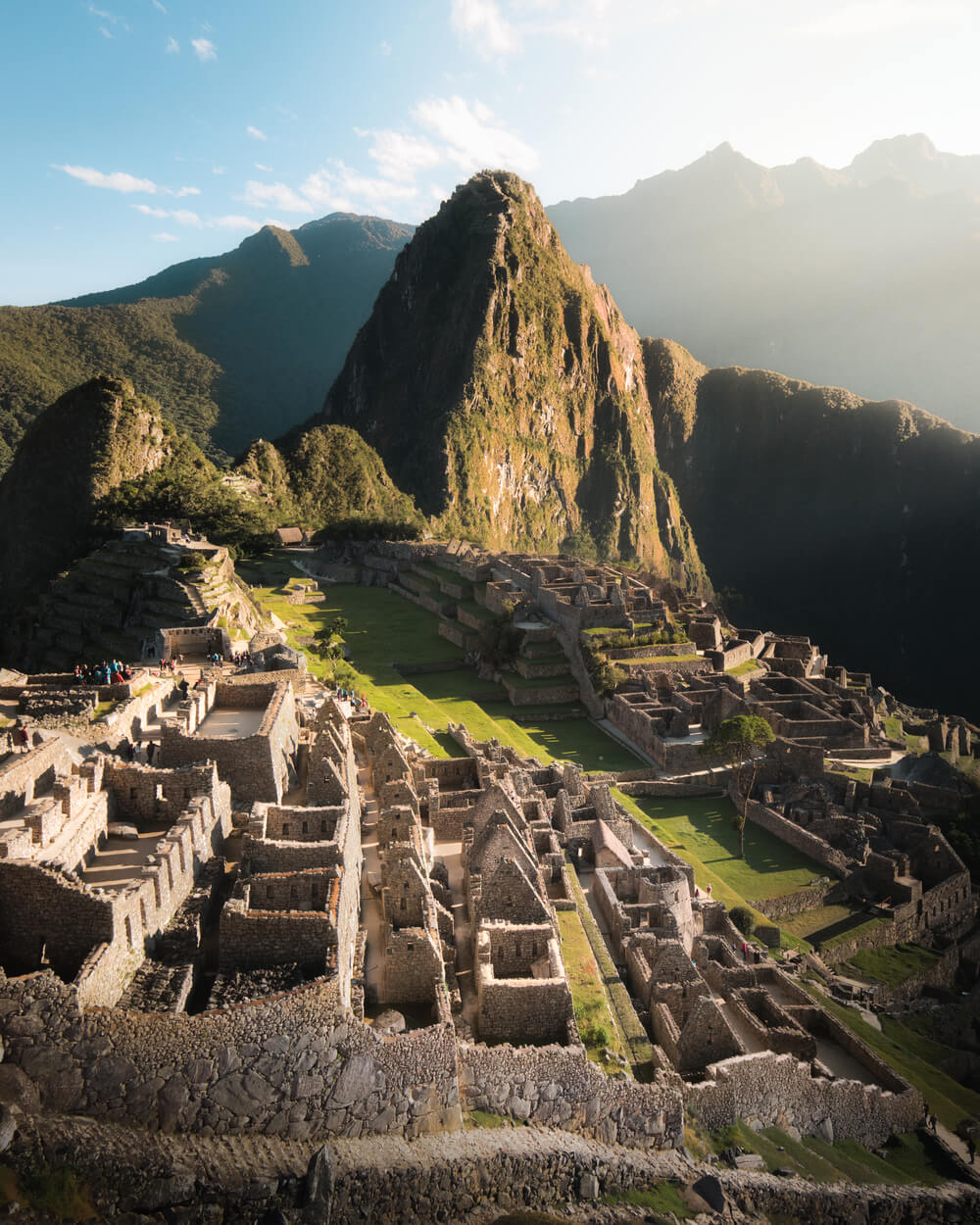 Machu Piccu after sunrise. Photo by Jordan Hammond