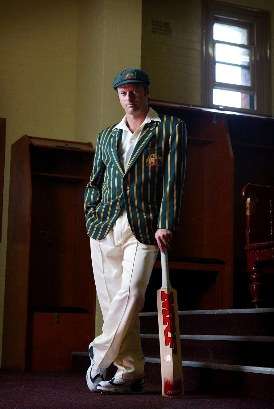 Portrait of Steve Waugh