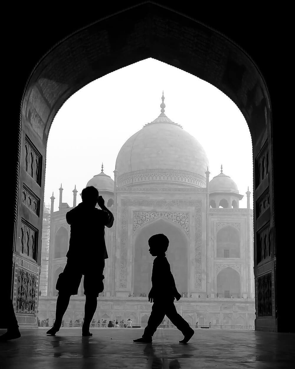 A Walk at Taj shot on a EOS 6D and EF 24-70mm f/2.8L II USM Lens by @gp_canon