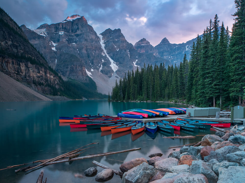 Moraine Lake. Image by Tony Irving