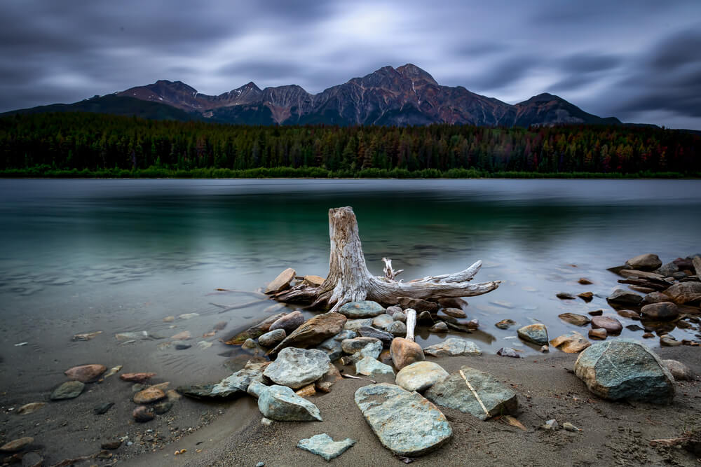 Long Exposure at Jasper. Shot by Tony Irving