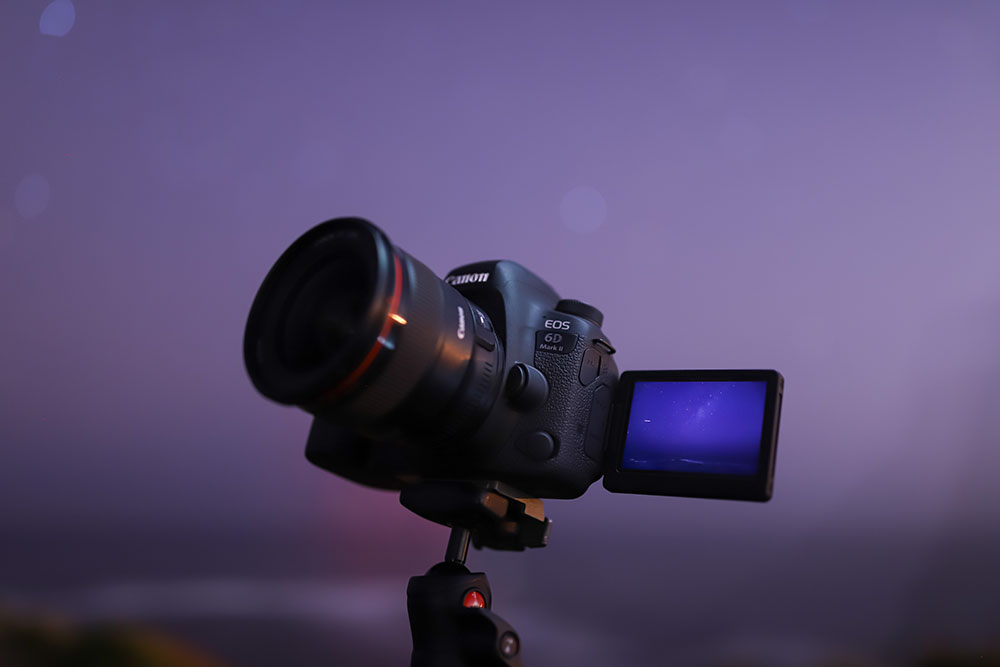 Shooting an astro time lapse