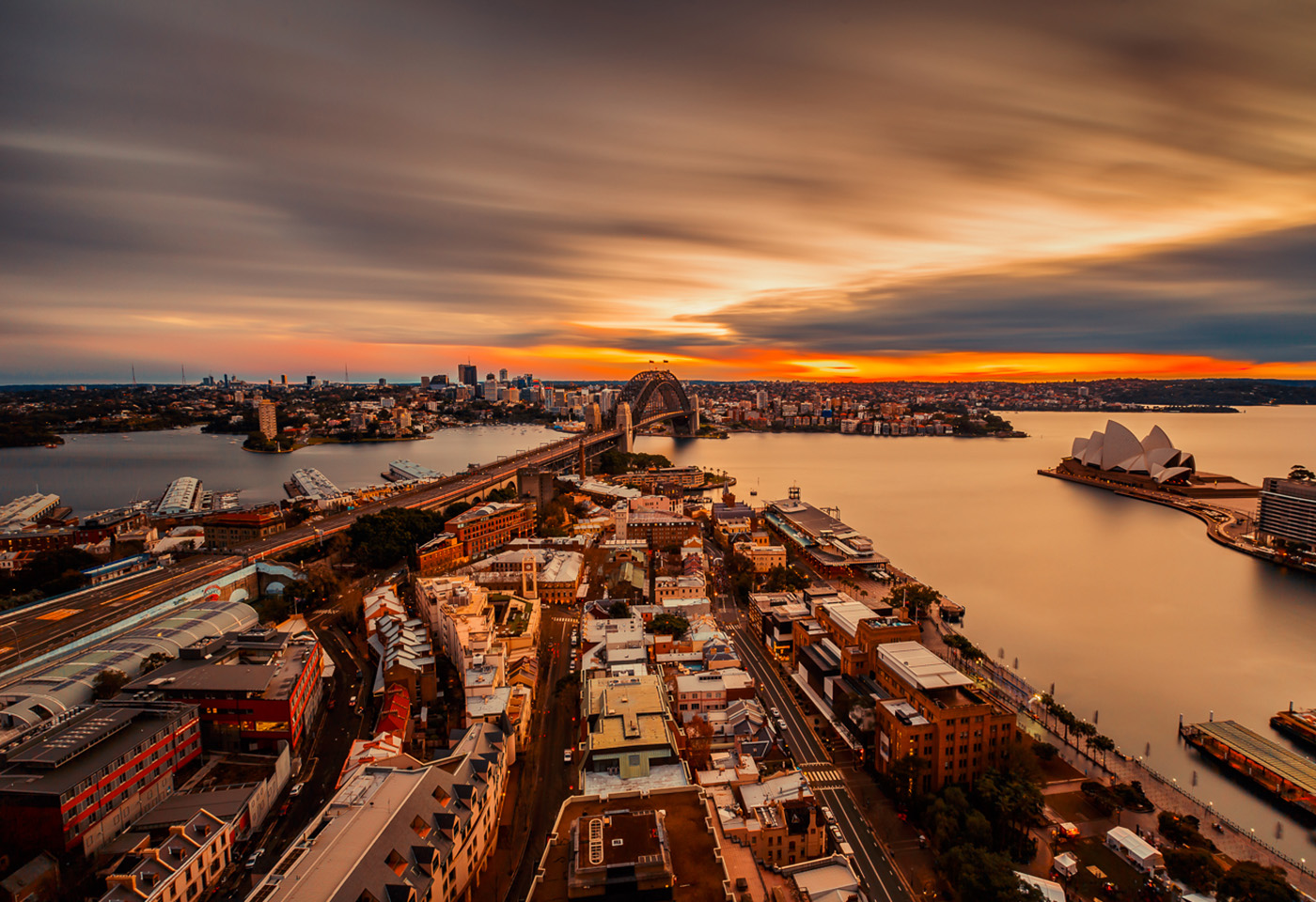 Landscape image of Sydney city by Beau Weti